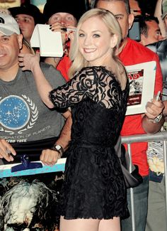 #EmilyKinney attends the premiere of AMC's 'The Walking Dead' 4th Season at Universal CityWalk on October 3, 2013 in Universal City, California.