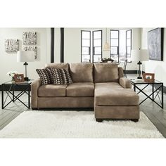 Getting a sleeper for your living room is a practical way to improve your space when you have guests!