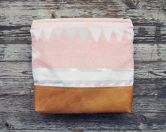 pastel navajo pouch