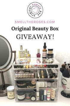 AWESOME GIVEAWAY! Win your own Original Beauty Box Acrylic Makeup Organizer valued at $119!
