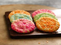 Gluten Free Sugar Cookies, these are soft and chewy, and are made from a cake mix! |BettyCrocker #GlutenFree