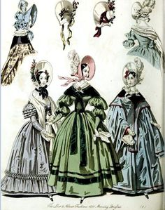 The World of Fashion and Continental Feuilletons 1836 Plate 51