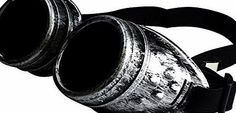ASVP Shop Steampunk Goggles Cyber Welding Goth Cosplay Vintage Goggles Rustic Rave Party Fancy Dress Costume No description (Barcode EAN = 5060344973458). http://www.comparestoreprices.co.uk/december-2016-week-1/asvp-shop-steampunk-goggles-cyber-welding-goth-cosplay-vintage-goggles-rustic-rave-party-fancy-dress-costume.asp