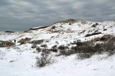 Winter in de duinen bij Egmond