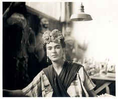 Frida Kahlo Rivera - Fotografías y recortes PINNED by My Art y Lezama