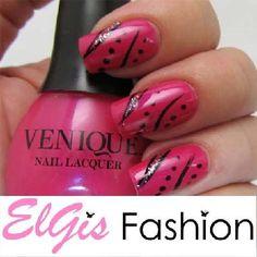 NEW VENIQUE Nail Lacquer Polish Hot Date FREE S/H