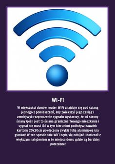 Jeśli masz problem z zasięgiem Wi-Fi w mieszkaniu - zapamiętaj. Router Wifi, Good Advice, Self Help, Good To Know, Home Remedies, Tricks, Einstein, Life Hacks, Beauty Hacks