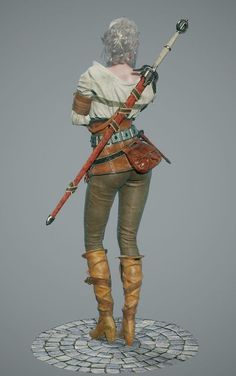 ArtStation - The witcher3 CIRI-likeness, juhee Ryu