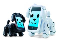iPhone dog.