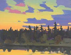 Afterglow, Lost Lake, Colorado,    Michael White Art 1 Century, Australian Artists, White Art, Illustration Art, Illustrations, Colorado, Tempura, Art Ideas, Egg