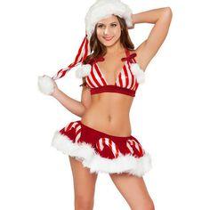 3 Pcs Sets Women Suits Bikini Red And White Striped Dirndl Dress Lingerie Erotic Female Christmas Costumes 2016 New Arrival WL60♦️ SMS - F A S H I O N 💢👉🏿 http://www.sms.hr/products/3-pcs-sets-women-suits-bikini-red-and-white-striped-dirndl-dress-lingerie-erotic-female-christmas-costumes-2016-new-arrival-wl60/ US $20.39