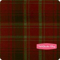 Primo Plaids Flannel Red and Green Large Plaid Yardage <br/>SKU
