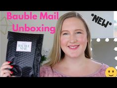 *NEW* Bauble Mail Earring Subscription Box Unboxing Subscription Boxes, Bauble, Make It Yourself, Earrings, Ear Rings, Beaded Earrings Native, Hoop Earrings