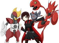 Ruby pokemon rwby