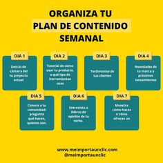 Weekly Calendar, Marketing Plan, Book Lists