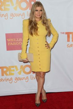 Musician Fergie (Fergie Duhamel) attends 'TrevorLIVE LA' honoring Jane Lynch and Toyota for the Trevor Project at Hollywood Palladium on December 8, 2013 in Hollywood, California.