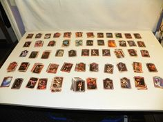 1978 KISS AUCOIN TRADING CARDS NEAR SET w/ EXTRAS:  GENE SIMMONS & ACE FREELY