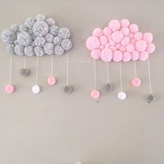 curtidas, 130 comentários – Fabiola Teles ( no Instagr… - Modern Diy Home Crafts, Baby Crafts, Crafts For Kids, Felt Crafts, Baby Boy Room Decor, Baby Boy Rooms, Pom Pom Rug, Pom Pom Crafts, Deco Floral