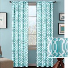 Better Homes and Gardens Ironwork Curtain Panel - Walmart.com