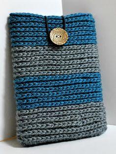 mama's little monkeys....: Free Pattern--Looks Knit Crochet Kindle Cover