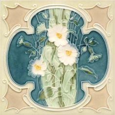 Golem Kunst- und Baukeramik GmbH | Art Nouveau tiles decorated | Art Nouveau tiles5
