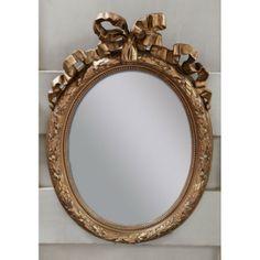 Antique French Louis XVI Gilded Mirror