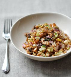 wheat berry salad with figs red onion recipe winter wheat berry salad ...