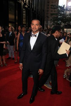Jesse Williams at The Butler premiere in NYC