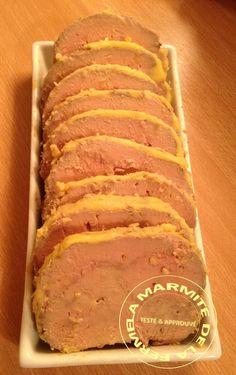 Foie gras cuisson vapeur (Thermomix)