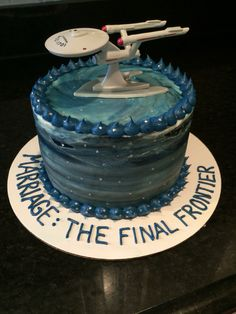 Star Trek cake                                                                                                                                                                                 More