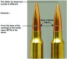 Effects of Cartridge Over All Length (COAL) and Cartridge Base To Ogive (CBTO) – Part 2 | Berger Bullets