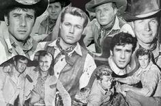 Laramie~ Slim and Jess John Smith Actor, Actor John, Laramie Tv Series, Robert Fuller Actor, Buddy Ebsen, Angel Stories, The Virginian, Tv Westerns, Old Tv Shows