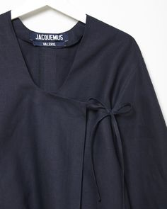 JACQUEMUS | La Blouse En Lin | Shop at La Garçonne
