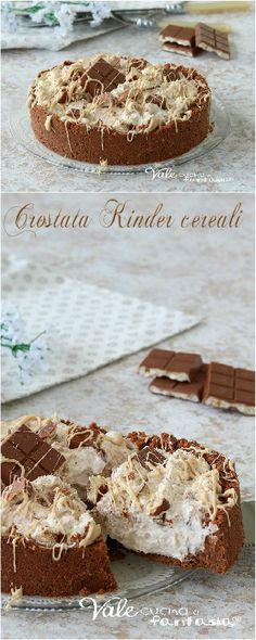 Crostata Kinder cereali