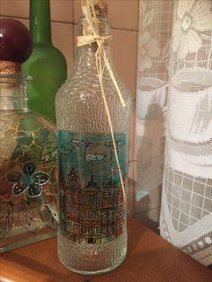 My Arts, Bottle, Home Decor, Decoration Home, Room Decor, Flask, Home Interior Design, Jars, Home Decoration