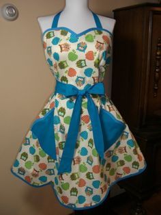 I have to have this owl apron!