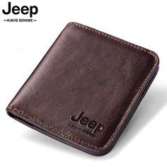 Jeep Leather Vintage Short Wallet | Kavi`s Fashion – Kavis Wallets
