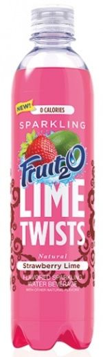 Sparkling Fruit2O Lime Twists by Sunny Delight Beverages