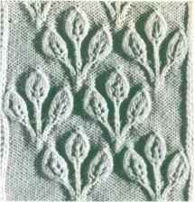 Leaf Cable Knitting Pattern : lace knitting stitches on Pinterest Knitting Patterns, Knitting Stitches an...