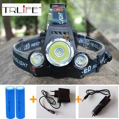 Frugal Led Flashlight Torch Super Bright 5000 Lumens Rechargeable Headlamp Motion Sensor Hands Free Headlight For Camping Lights & Lighting Portable Lighting Fishing