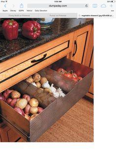 Vegetable drawer