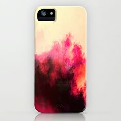 Painted Clouds II iPhone & iPod Case.          So pretty