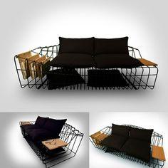 Sofist Sofa par la designer Turc Sule Koç.