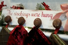 The Stockings Were Hung. . . | Scissors & Spatulas {and everything in between}Scissors & Spatulas {and everything in between}