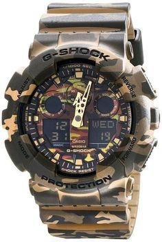 G-Shock GA100CM-5A Watch - Green