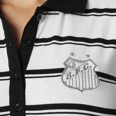 Camisa Polo Santos Woman - Vila do Santos