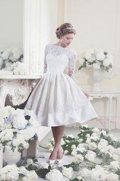 vestidos de novia años 50
