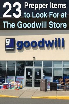Shopping at thrift stores like the Goodwill store is a great way to save money on prepper items. Its extremely satisfying. via Urban Survival Site Survival Items, Urban Survival, Survival Food, Wilderness Survival, Survival Prepping, Survival Skills, Survival Hacks, Homestead Survival, Survival Stuff