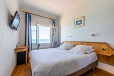 Hotel Kyriad Saint Malo Plage - chambre double vue sur mer