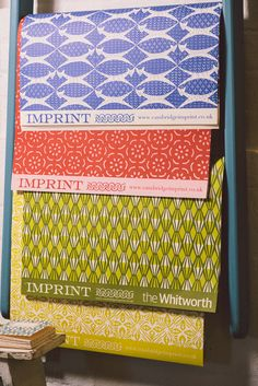 colourful wrapping paper by Cambridge Imprint